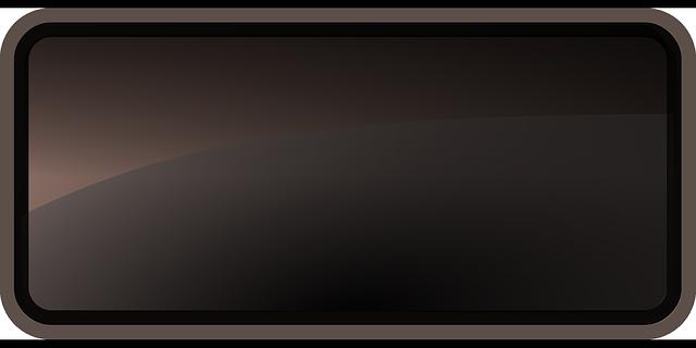 glass-glossy-black-rectangle-interface